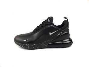 air max 270 smooth leather sport black snow